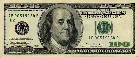 old 100 dollar bill back. old 100 dollar bill back. use