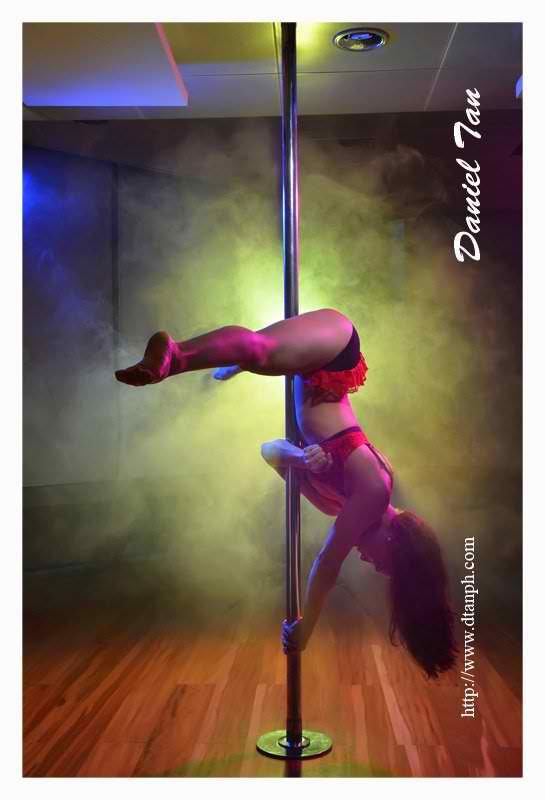 ciara sotto hot pole dancing exercise 02
