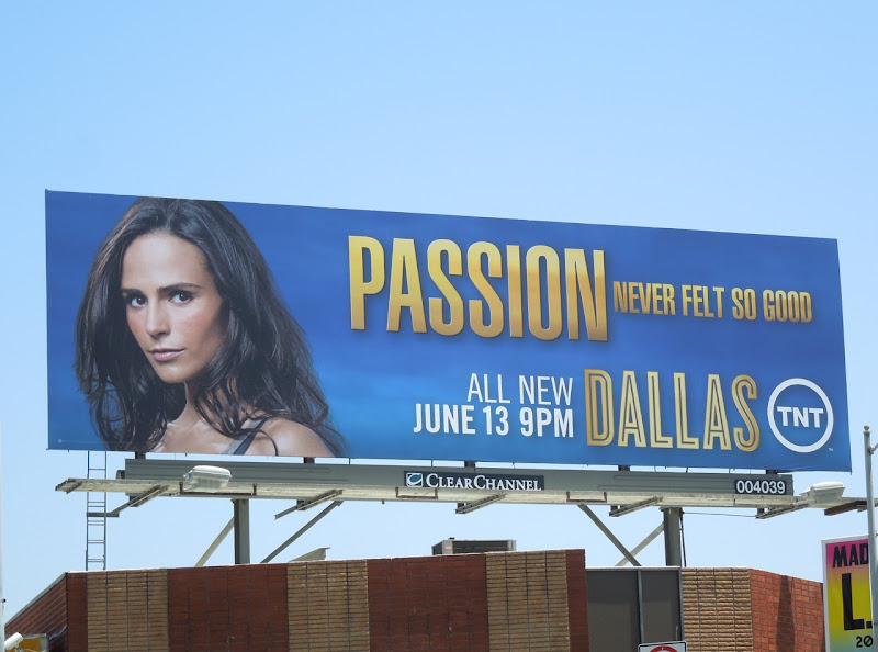Dallas Passion billboard