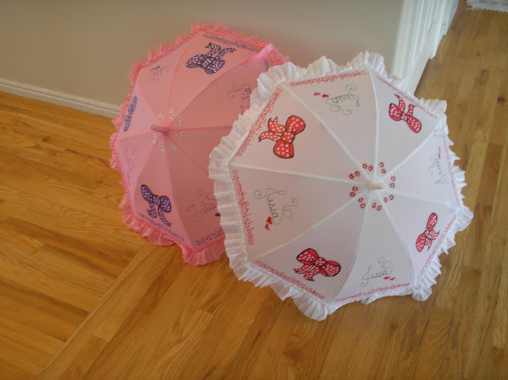 white & pink bows (m.p.)