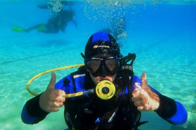 Pycha kroczy przed upadkiem czyli jak się skończyło moje podwodne rumakowanie