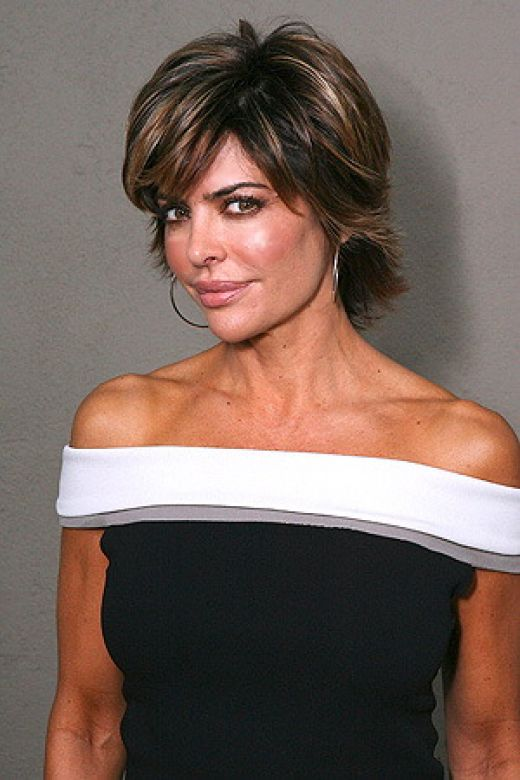 New Life Style: Lisa Rinna Hairstyle ; actress hairstyle