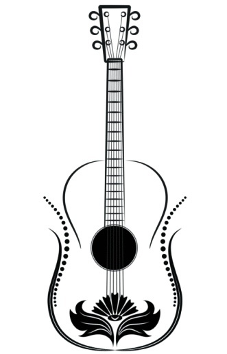 Acoustic Guitar Tattoo...
