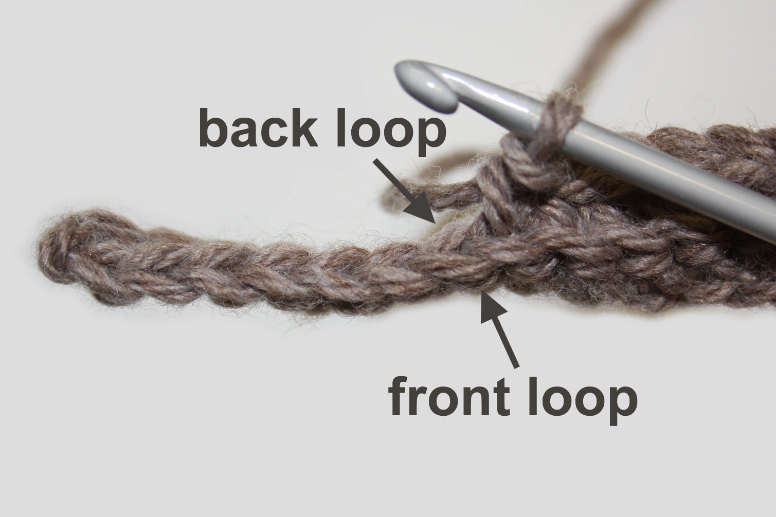 Front and back loop