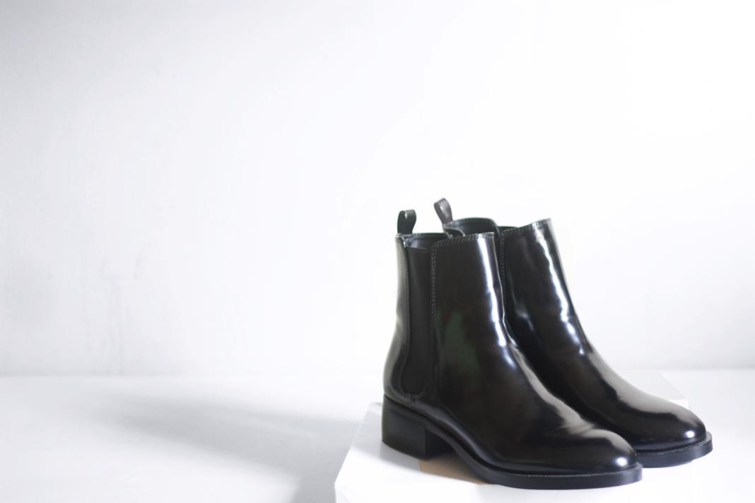 zara flat chelsea boots images