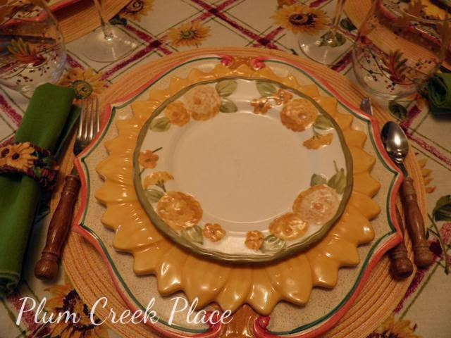 fall tablescape, sunflower, zinnia