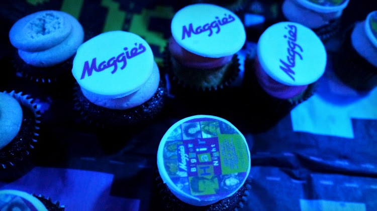 Maggie's Big Hair Eighties Party Chelsea