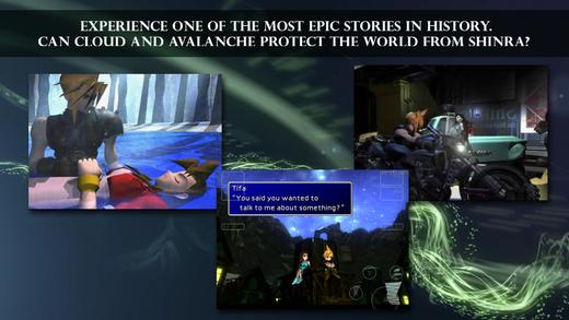 Final Fantasy VII comes to iOS finally