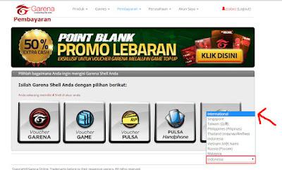 cara pembelian cash point blank gratis