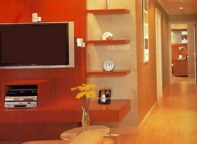 Margarida ruivo pinturas dar cor e decorar corredores - Gama de colores para pintar paredes de pasillos ...