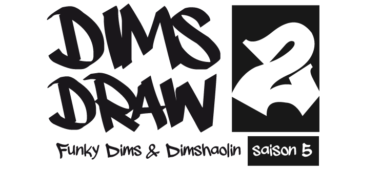 DimsDraw2 - The funky story of Funky Dims & Dimshaolin