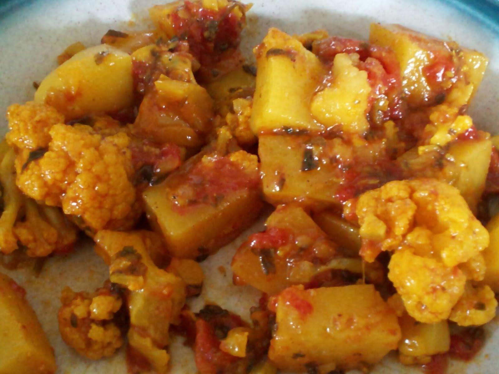 Vegan rd authentic aloo gobi for Authentic south indian cuisine