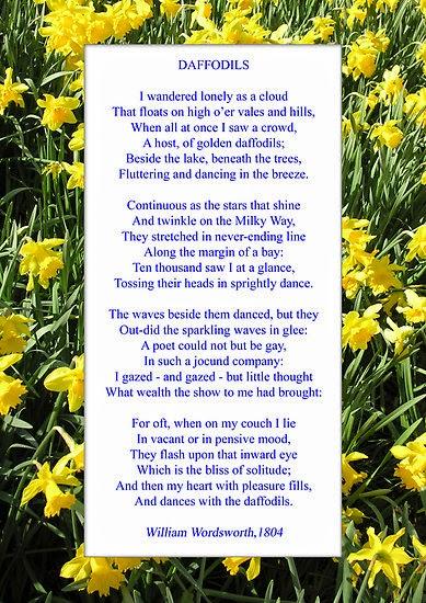 Daffodils william wordsworth