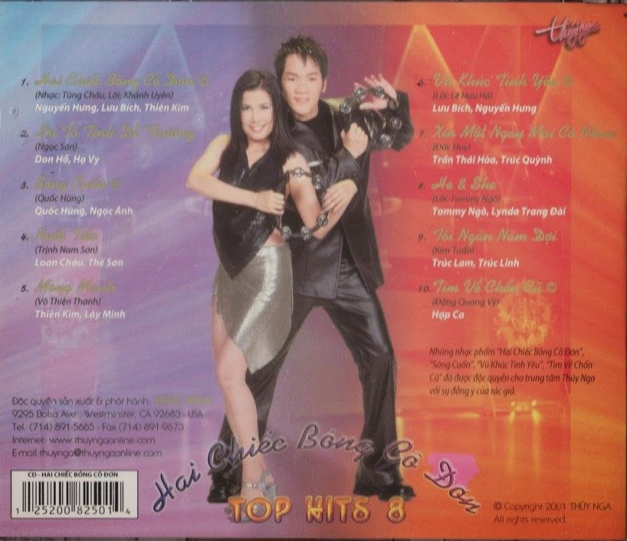 Various - 8 Top Hits: Hits Hits Hooray!