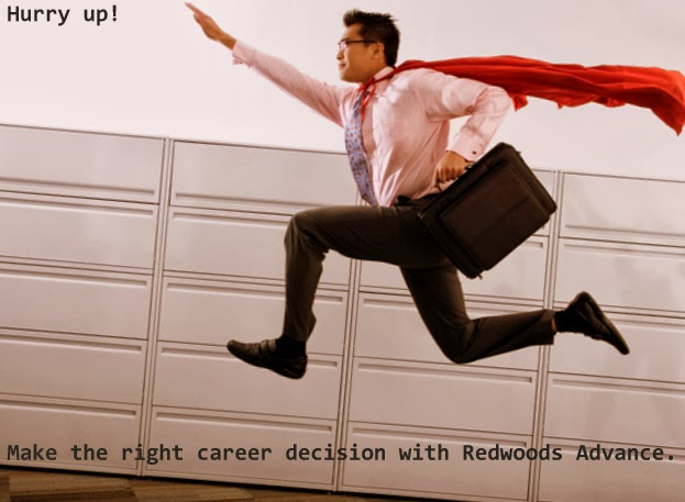 Make the right career decision with Redwoods Advance