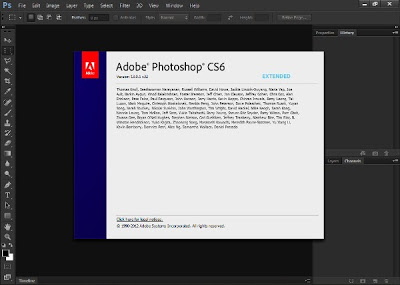 cara  photoshop cs6 dan crack
