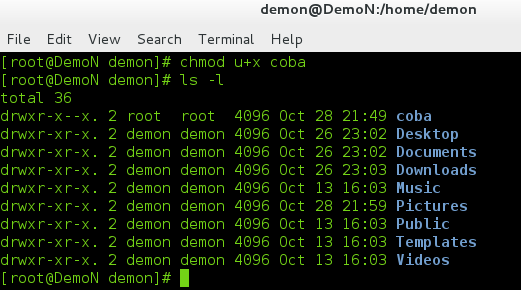 how to change read write permissions in linux terminal