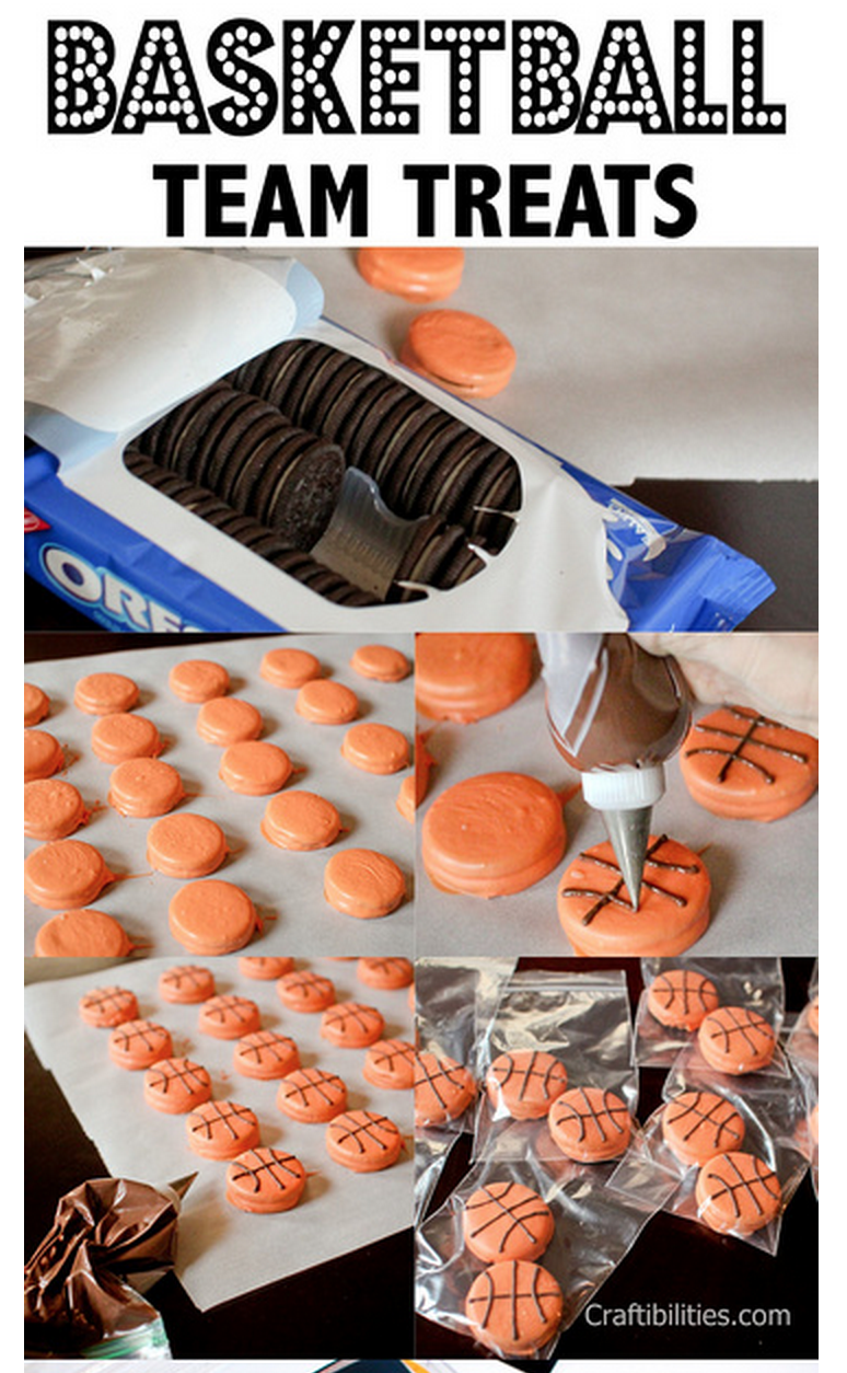 image KAwartha Lakes Mums Featured Basketball Team Treats - Oreo Cookie Change up - Craftibilities Blog