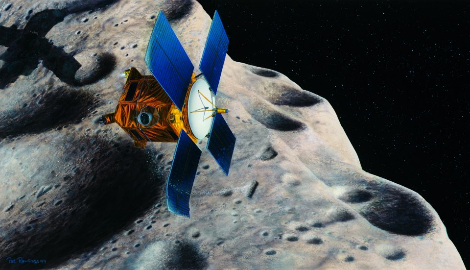 asteroid mining machinery - 960×551