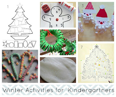 The Green Grass Grew All Around: Winter & Christmas Activities for Pre ...