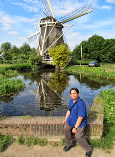 Amsterdam Netherlands Riekermolen Windmill Rembrandt's Mill