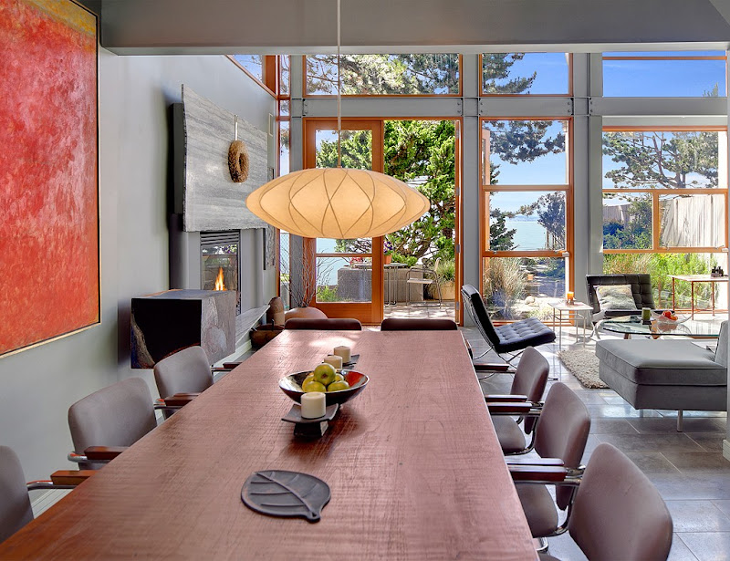 Modern Waterfront Townhouse in Seattle - Inspiring Modern Home title=