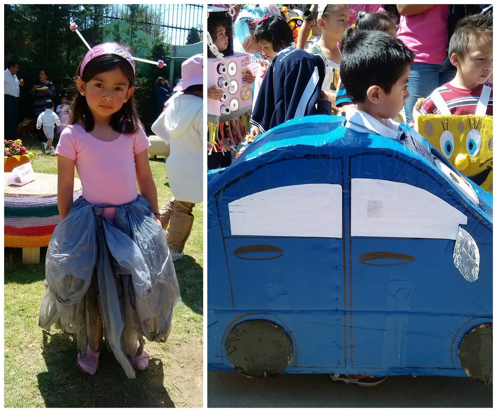 diy disfraces reciclados