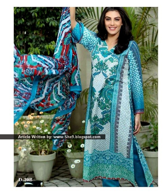 Jhilmil Lawn Collection 2015 by Sitara Textiles
