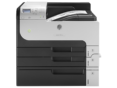 Driver HP LaserJet Enterprise 700 Printer M712xh – Get and install Instruction
