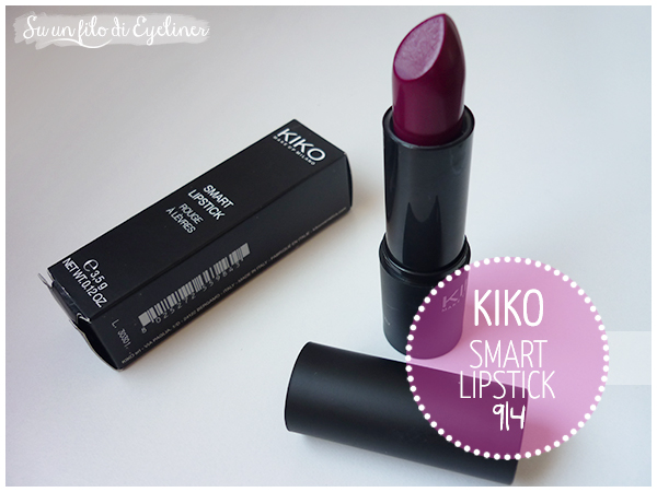 kiko smart lipstick 914 dupe rebel