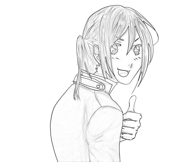 kuroh-yatogami-funny-coloring-pages