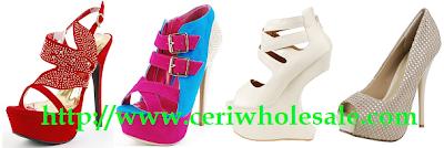 heel less wedges