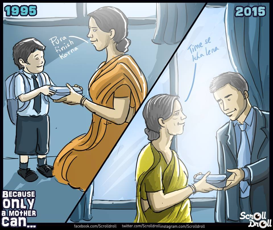 mother's sacrifice
