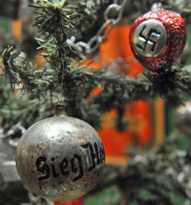 Hitler's effort to change Christmas so that people didn't celebrate the birthday of a Jew