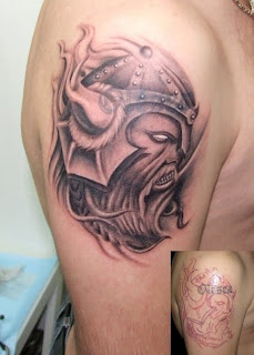 viking shoulder tattoo styles