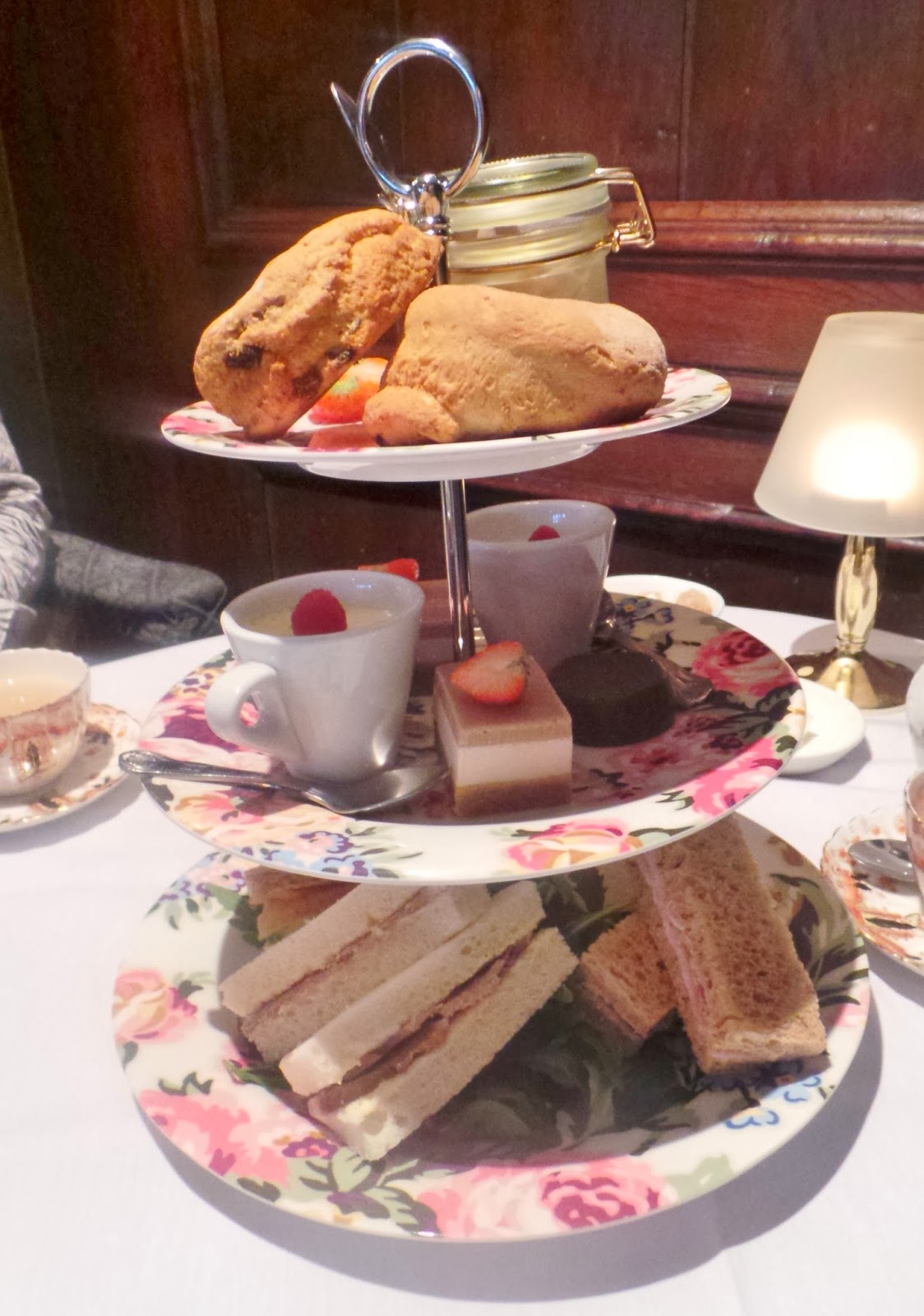 Afternoon tea in yorkshire