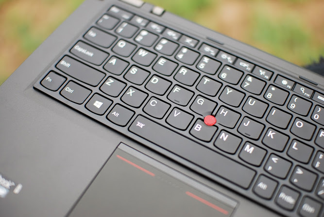 Lenovo Thinkpad Yoga S1 MULTIMODE ULTRABOOK Blog Review Keyboard