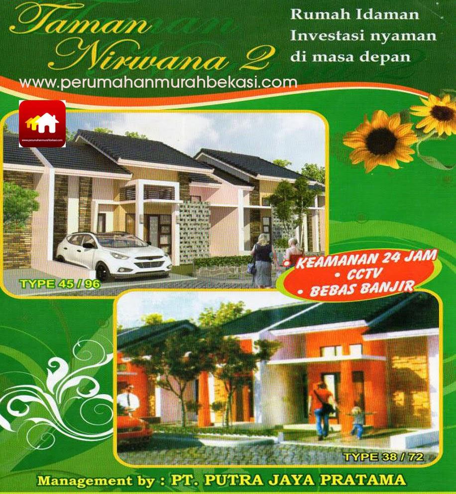 Rumah Cluster Murah Taman Nirwana 2 Karang Satria Bekasi