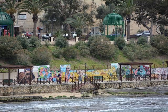 Graffiti St. Julians sea