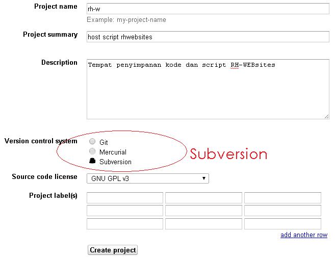 Cara Membuat File Hosting Google Code Sendiri