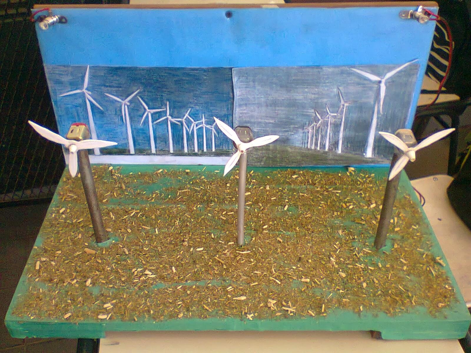 Maqueta De Energia Renovable