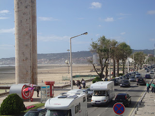 Figueira da Foz Beach Main Avenue photo -  Portugal