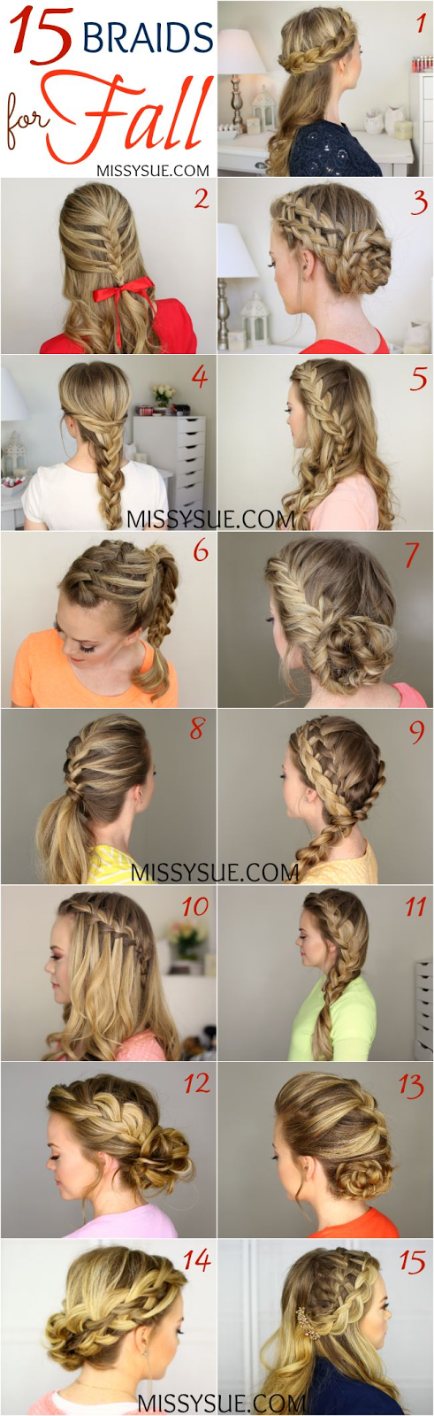 Fall Hairstyles:15 Braids for Fall