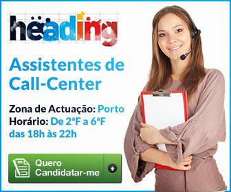 Operadores Call Center - Zona Porto - Cliente Optimus