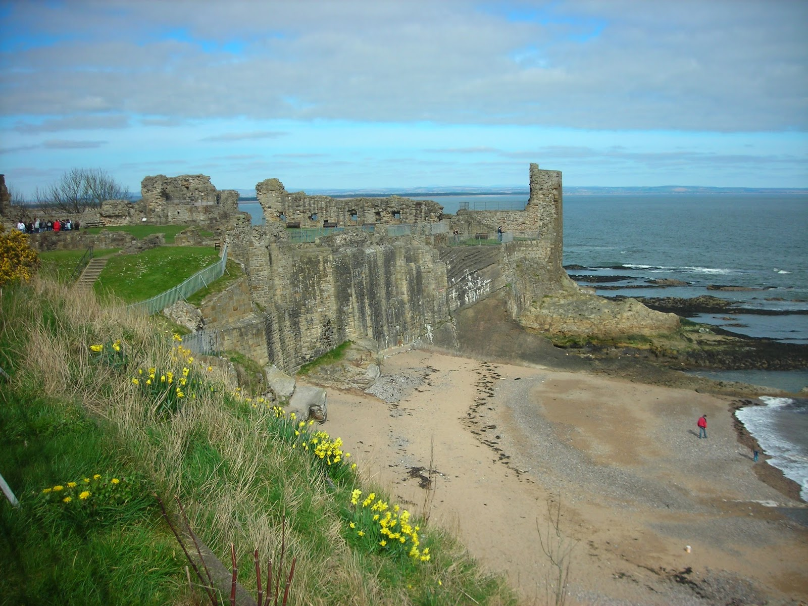 St Andrews castle ruins