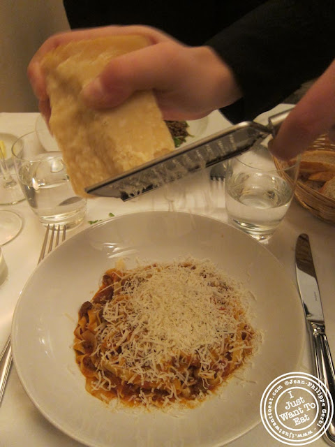 image of Tagliatelles with beef ragu at Vasco and Piero's Pavilion Italian restaurant in London, England