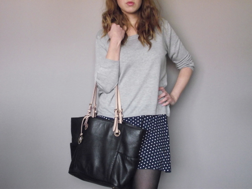 polka-dot-skirt-grey-jumper