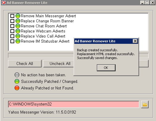 Ad Banner Remover Lite