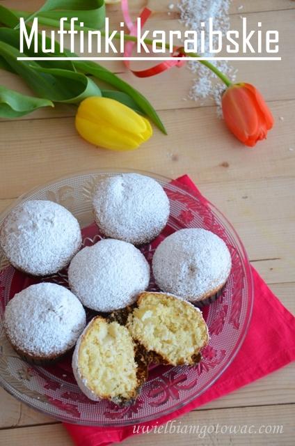 Muffinki karaibskie