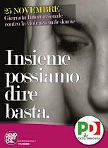25 novembre  2011 GIORNATA INTERNAZIONALE CONTRO LA VIOLENZA ALLE DONNE